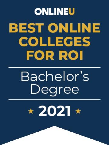 2021 Best Bachelor's Degrees Badge