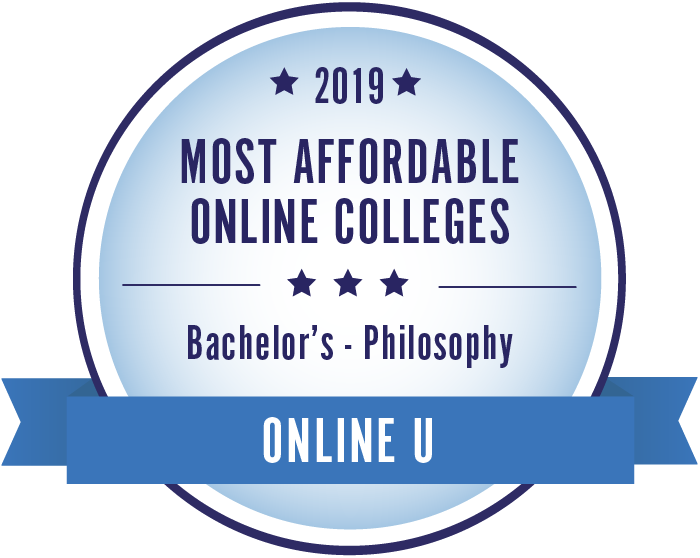 Philosophy-Top Online Colleges-2019-Badge