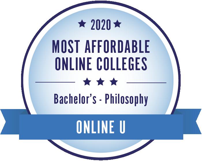 Philosophy-Most Affordable Online Colleges-2019-Badge