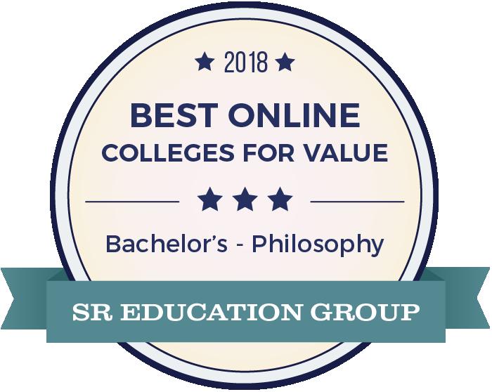 Philosophy-Top Online Colleges-2018-Badge