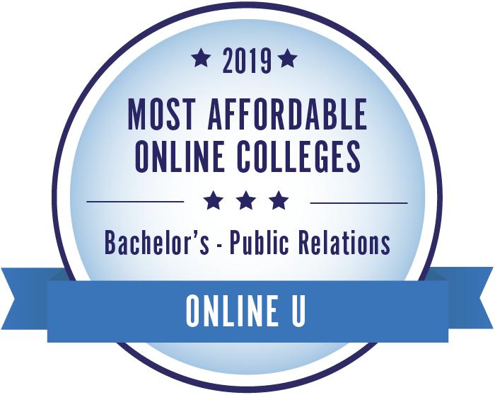 Public Relations-Top Online Colleges-2019-Badge