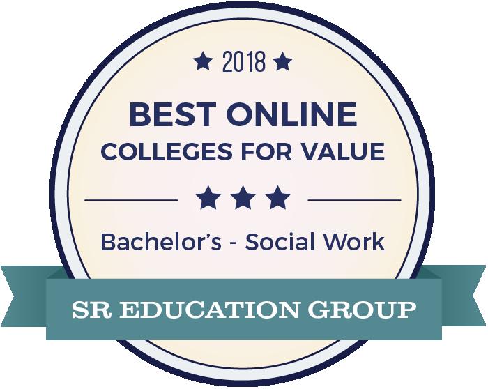 Social Work-Top Online Colleges-2018-Badge