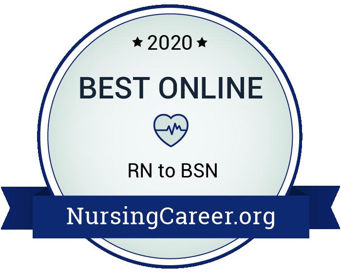 Best Online RN to BSN Degrees in Nursing Badge
