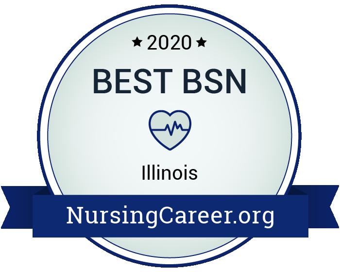 Best Nursing Bachelor's Degrees in Illinois Badge