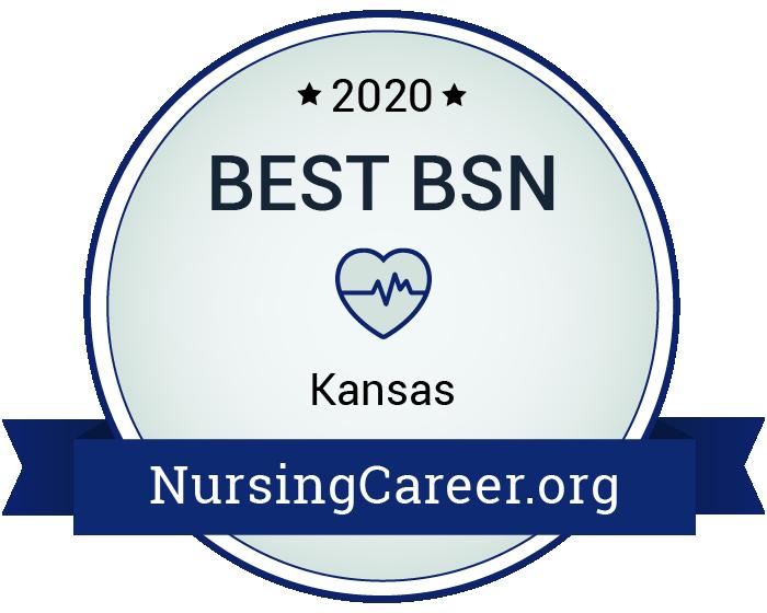 Best Nursing Bachelor's Degrees in Kansas Badge