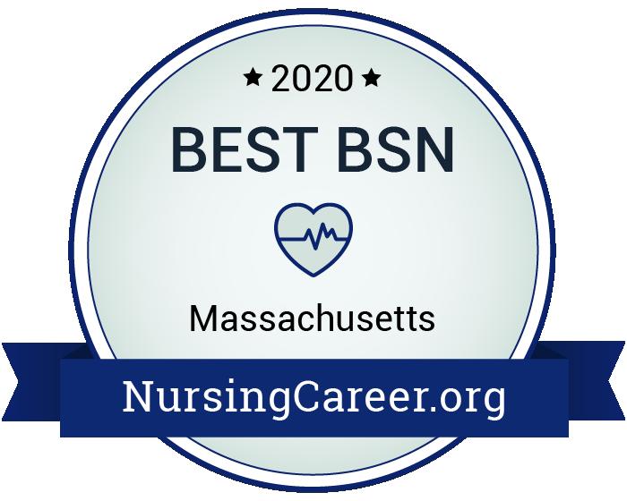 Best Nursing Bachelor's Degrees in Massachusetts Badge