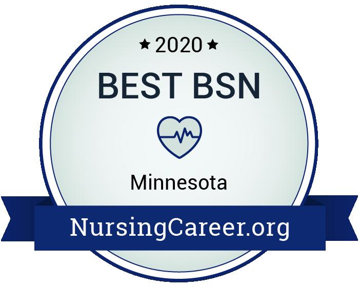 Best Nursing Bachelor's Degrees in Minnesota Badge