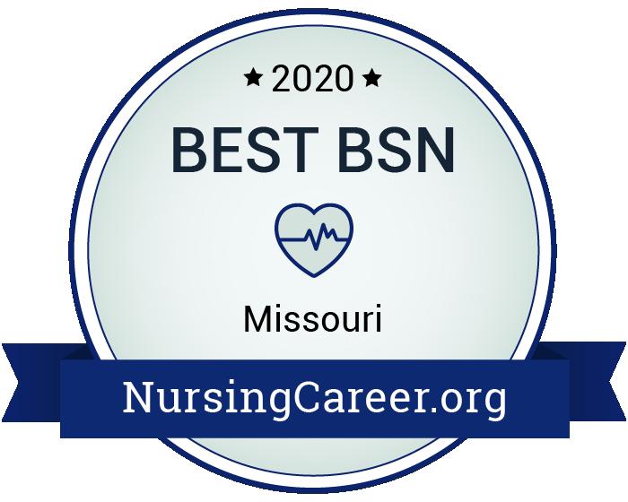Best Nursing Bachelor's Degrees in Missouri Badge