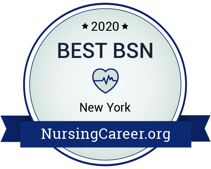 Best Nursing Bachelor's Degrees in New York Badge