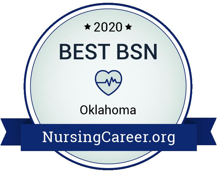 Best Nursing Bachelor's Degrees in Oklahoma Badge