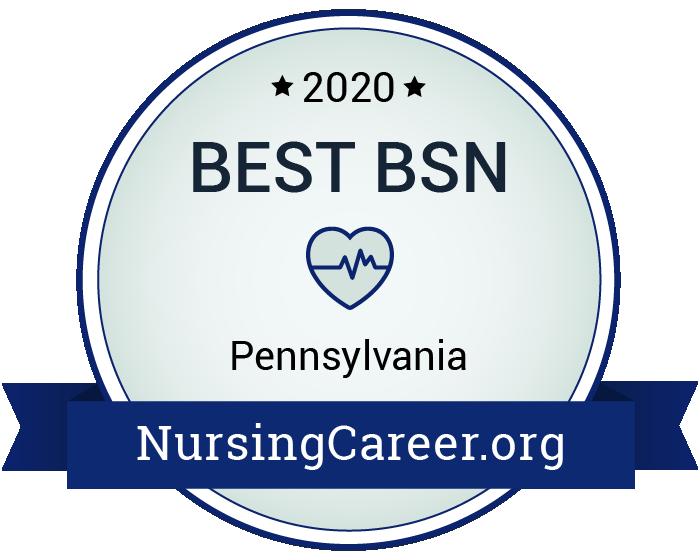 Best Nursing Bachelor's Degrees in Pennsylvania Badge