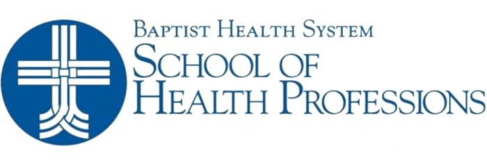 Baptist Health System School of Health Professions logo