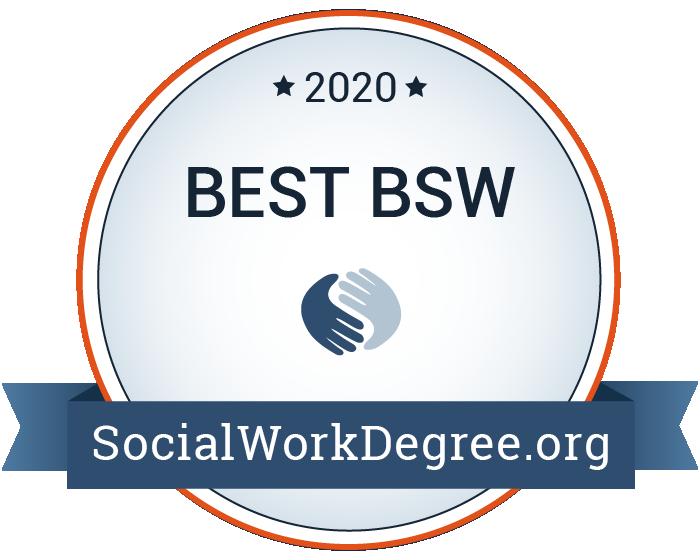 2020 Best BSW Programs Badge