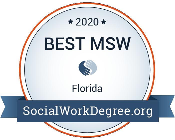 2020 Best MSW Programs in Florida Badge