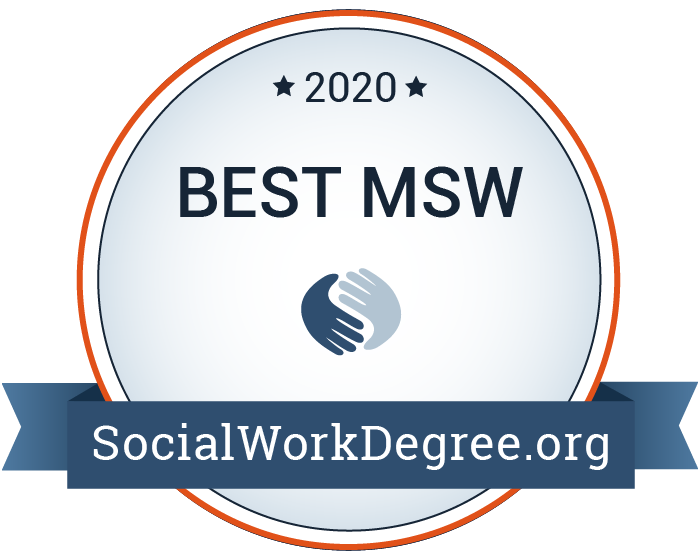 2020 Best MSW Programs Badge
