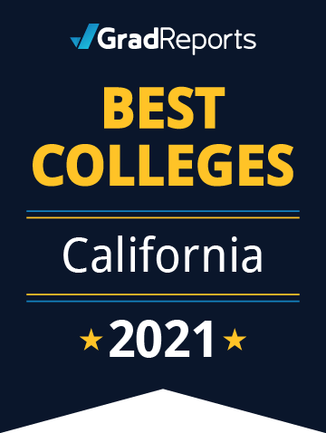 2021 Best Colleges in California Badge