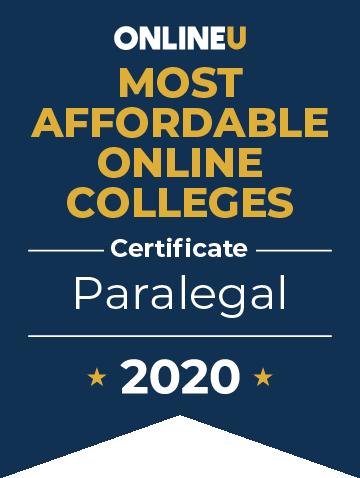 paralegal online program