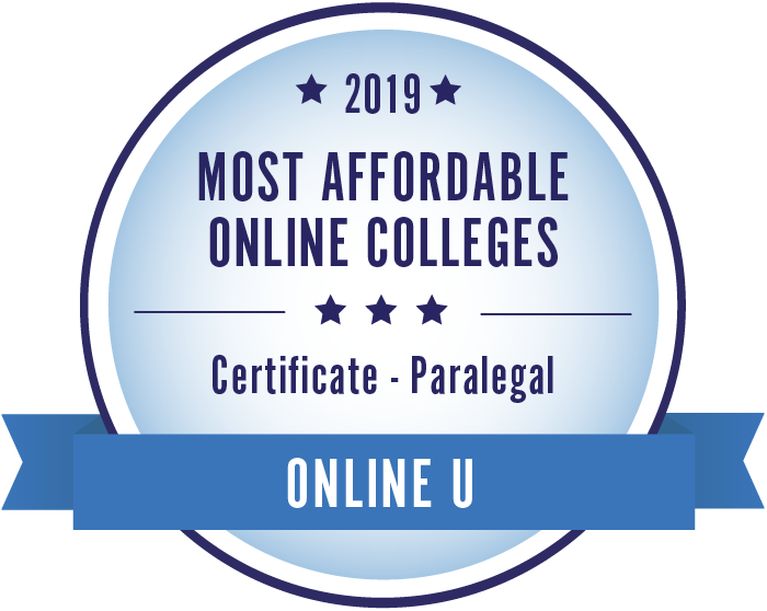 2019 Best Online Colleges for Paralegal Degrees & Certificates
