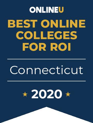 2020 Best Online Colleges in Connecticut Badge