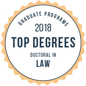 Law-Top Graduate Schools-2018-Badge