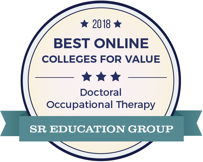 Occupational Therapy-Top Online Colleges-2018-Badge