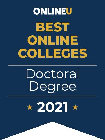 2021 Best Doctoral Degrees Badge