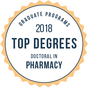 Pharmacy-Top Graduate Schools-2018-Badge