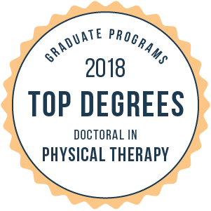 Physical Therapy-Top Graduate Schools-2018-Badge