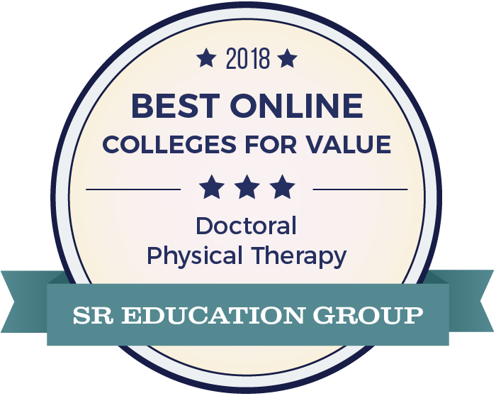 Physical Therapy-Top Online Colleges-2018-Badge