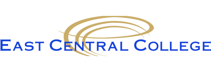 East Central College logo
