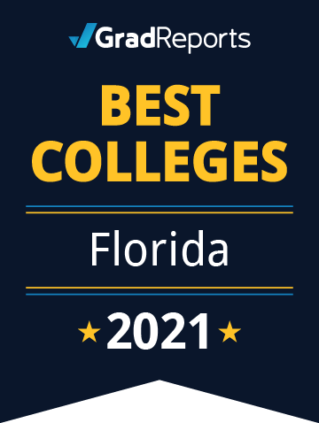 2021 Best Colleges in Florida Badge