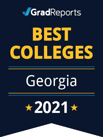 2021 Best Colleges in Georgia Badge