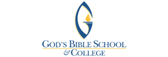 God's Bible School and College logo