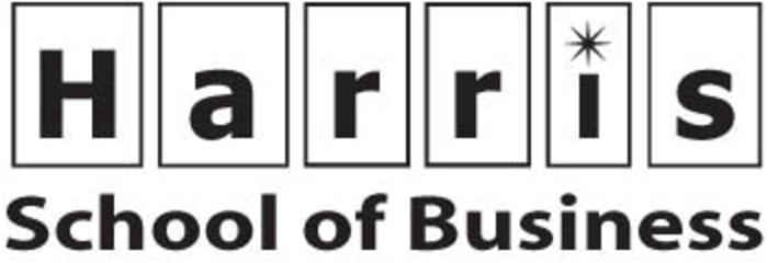 Harris School of Business logo