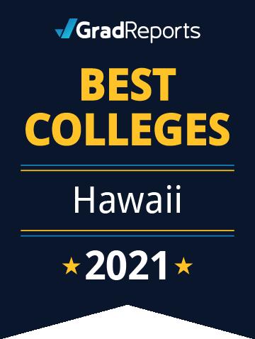 2021 Best Colleges in Hawaii Badge