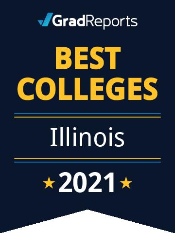 2021 Best Colleges in Illinois Badge