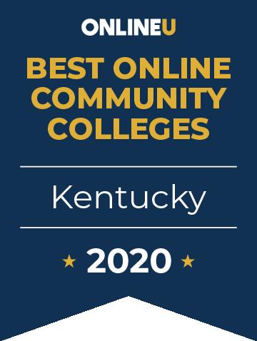 2020 Best Online Community Colleges in Kentucky Badge