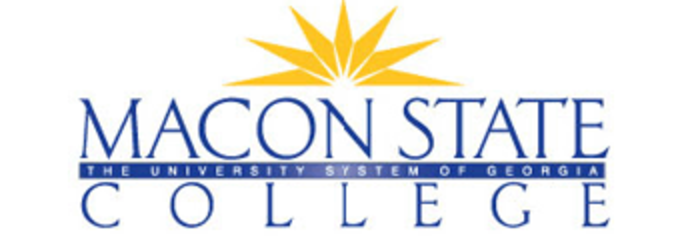 Macon State College logo