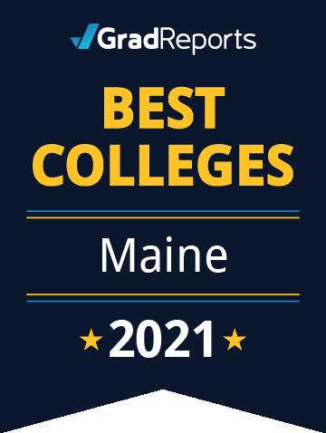 2021 Best Colleges in Maine Badge