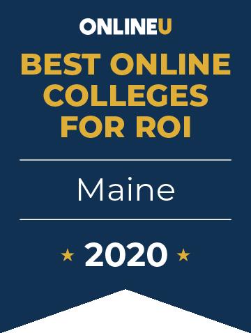 2020 Best Online Colleges in Maine Badge