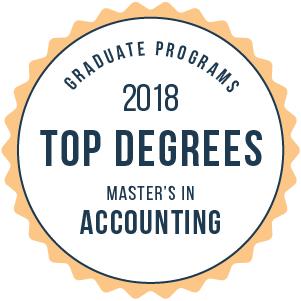 Accounting-Top Graduate Schools-2018-Badge