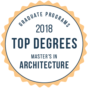 Architecture-Top Graduate Schools-2018-Badge