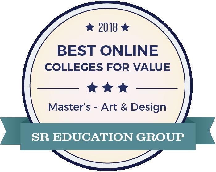 Art & Design-Top Online Colleges-2018-Badge