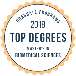 Biomedical Sciences-Top Graduate Schools-2018-Badge