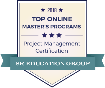 Project Management-Top Online Colleges-2018-Badge