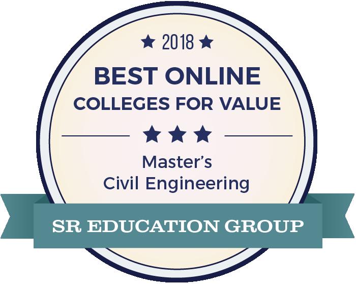Civil Engineering-Top Online Colleges-2018-Badge