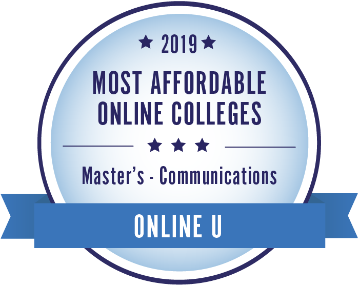 Communications-Top Online Colleges-2019-Badge