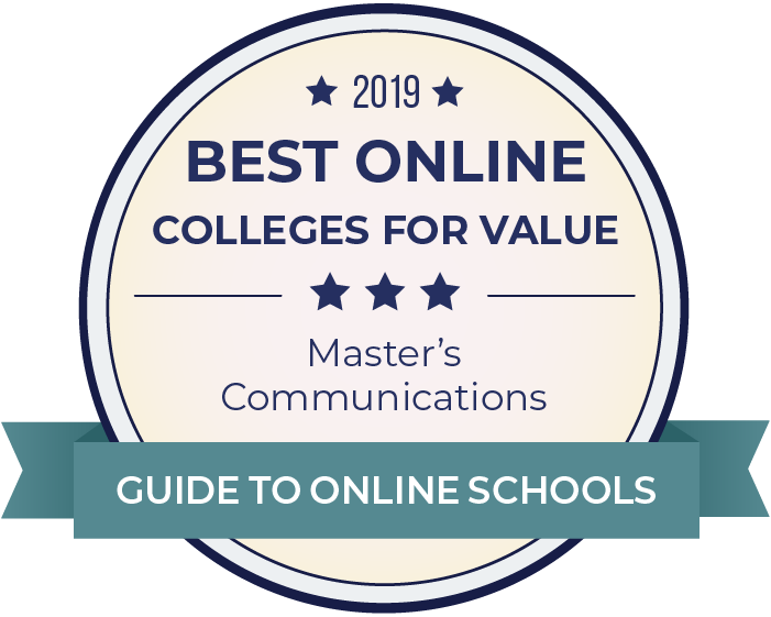 Communications-Most Affordable Online Colleges-2019-Badge
