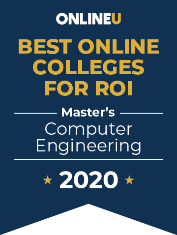 2020 Best Online Master's in Computer Engineering Badge