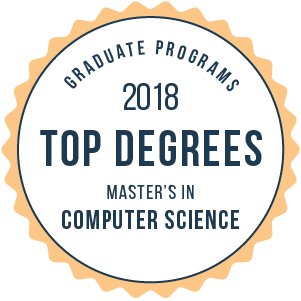 Computer Science-Top Graduate Schools-2018-Badge